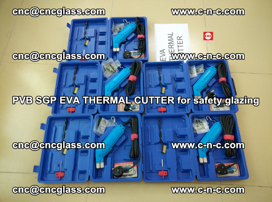 PVB SGP EVA THERMAL CUTTER for laminated glass safety glazing (115)
