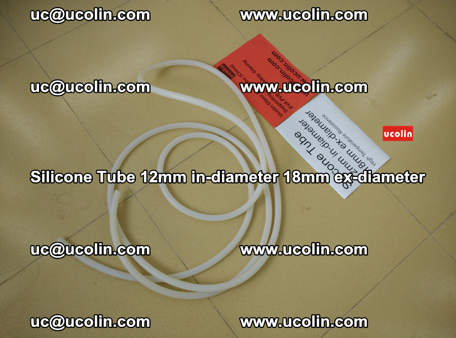 Silicone Tube for vacuuming EVA PVB SGP laminated glass glazing (1)