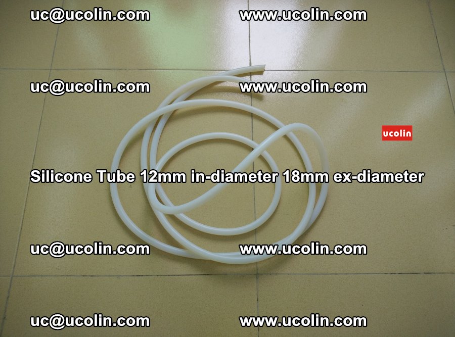 Silicone Tube for vacuuming EVA PVB SGP laminated glass glazing (11)