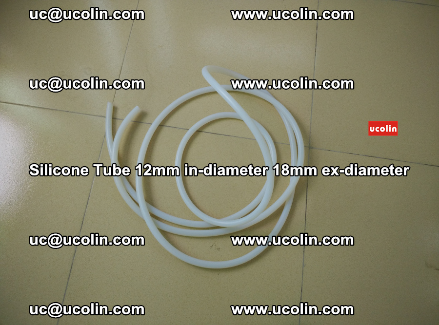 Silicone Tube for vacuuming EVA PVB SGP laminated glass glazing (13)