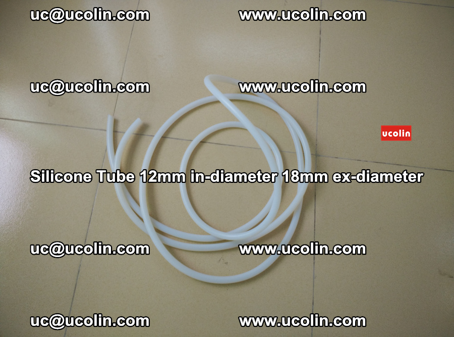 Silicone Tube for vacuuming EVA PVB SGP laminated glass glazing (14)