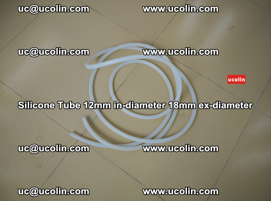Silicone Tube for vacuuming EVA PVB SGP laminated glass glazing (15)
