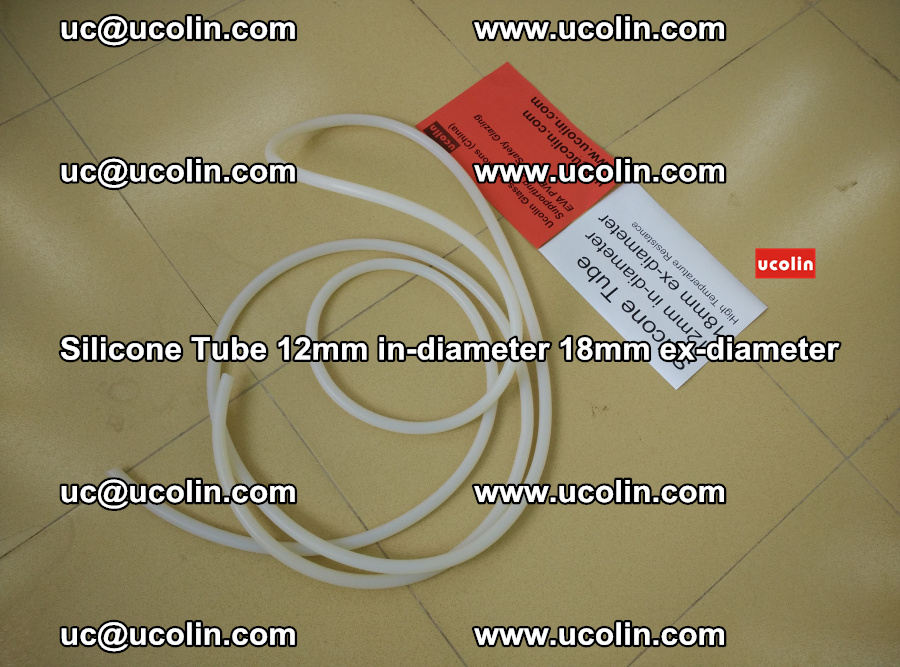 Silicone Tube for vacuuming EVA PVB SGP laminated glass glazing (2)