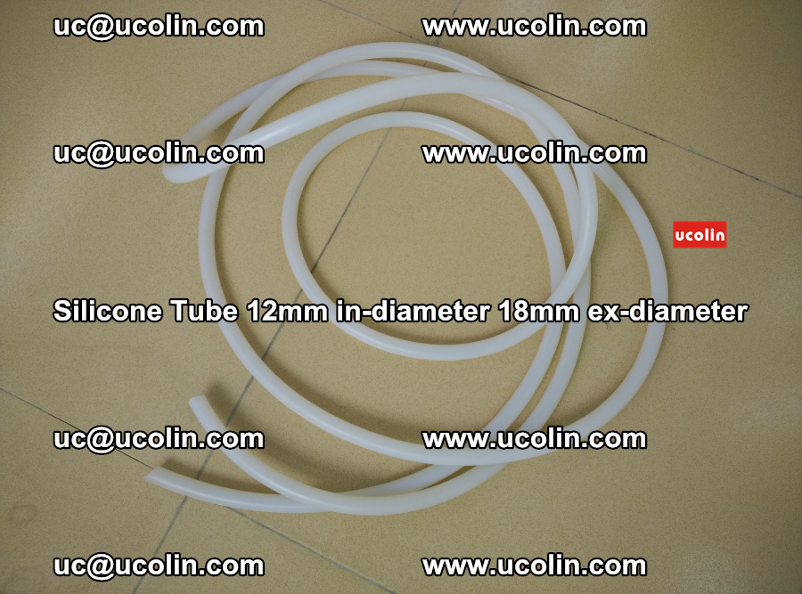 Silicone Tube for vacuuming EVA PVB SGP laminated glass glazing (21)