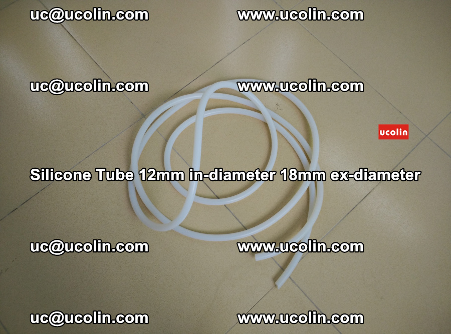 Silicone Tube for vacuuming EVA PVB SGP laminated glass glazing (28)