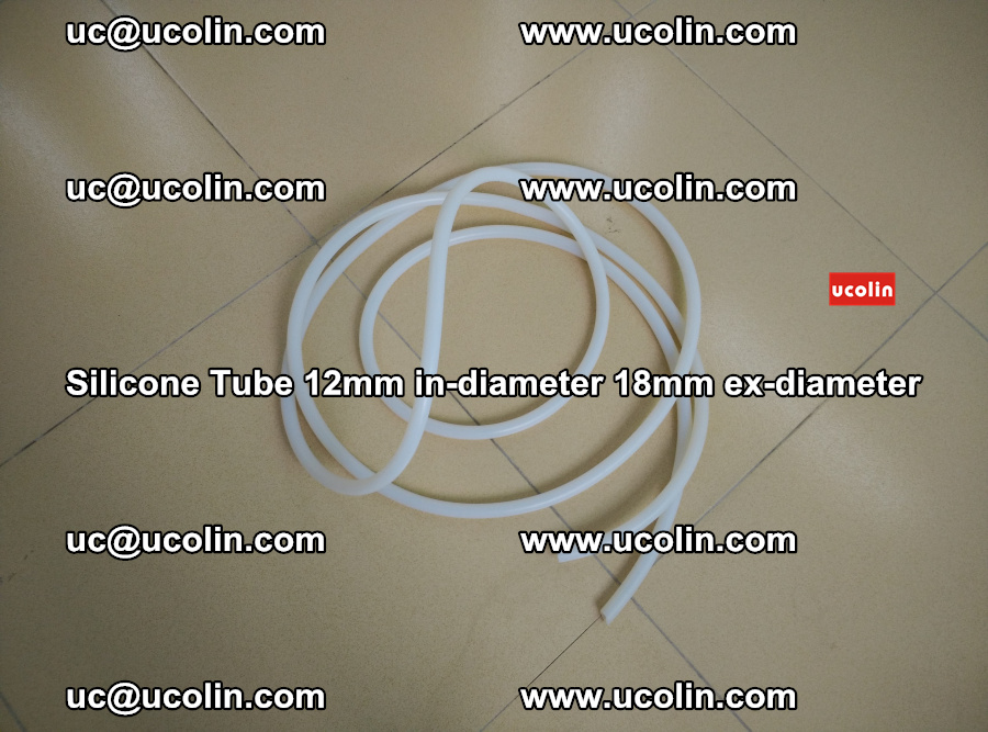 Silicone Tube for vacuuming EVA PVB SGP laminated glass glazing (29)