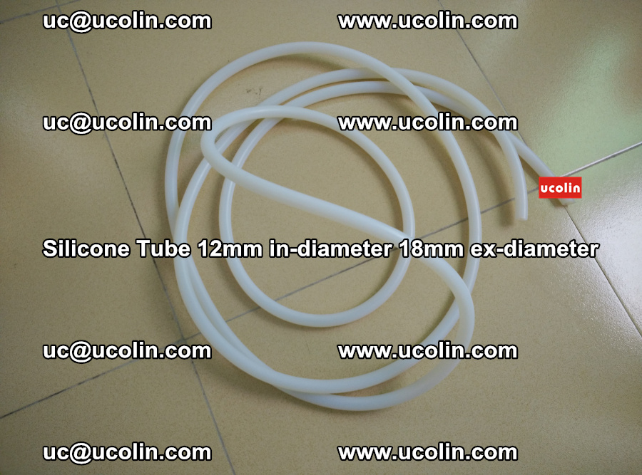 Silicone Tube for vacuuming EVA PVB SGP laminated glass glazing (33)