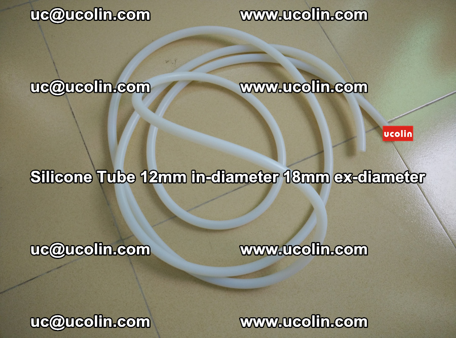 Silicone Tube for vacuuming EVA PVB SGP laminated glass glazing (34)