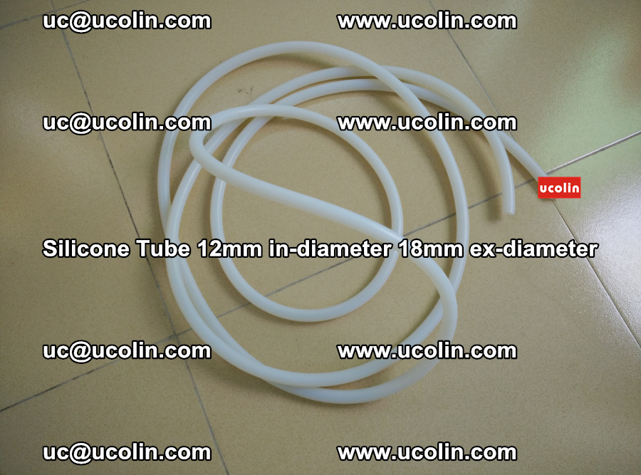 Silicone Tube for vacuuming EVA PVB SGP laminated glass glazing (39)