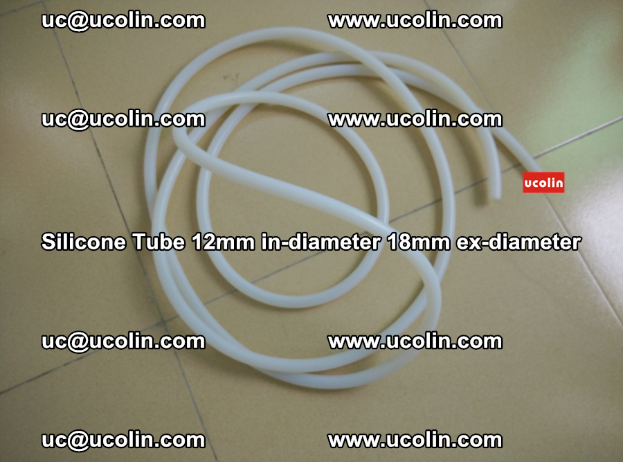 Silicone Tube for vacuuming EVA PVB SGP laminated glass glazing (41)
