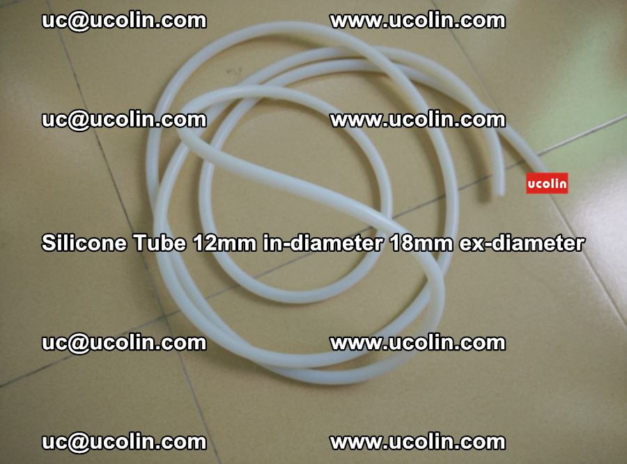 Silicone Tube for vacuuming EVA PVB SGP laminated glass glazing (43)