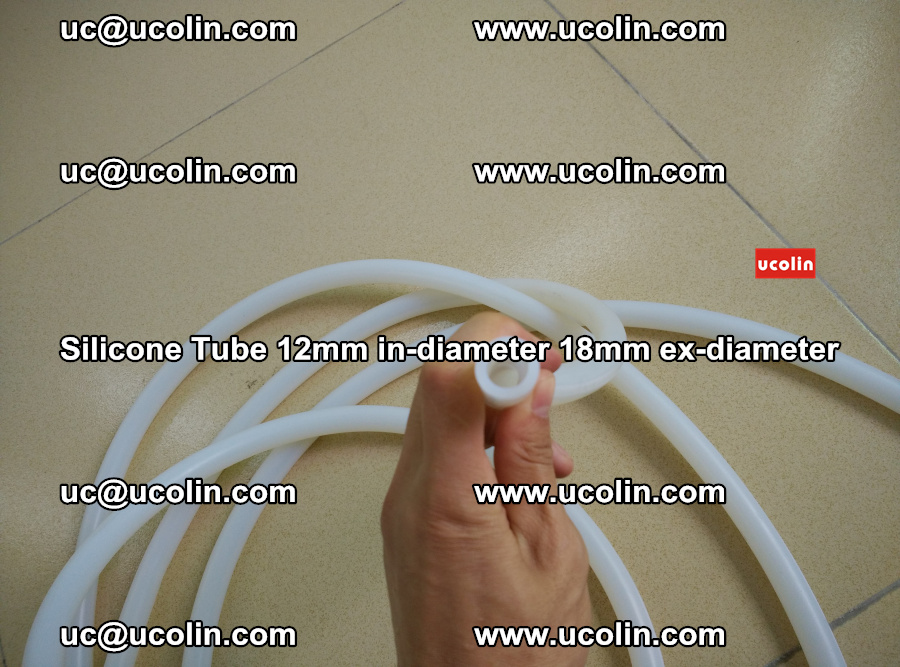 Silicone Tube for vacuuming EVA PVB SGP laminated glass glazing (49)