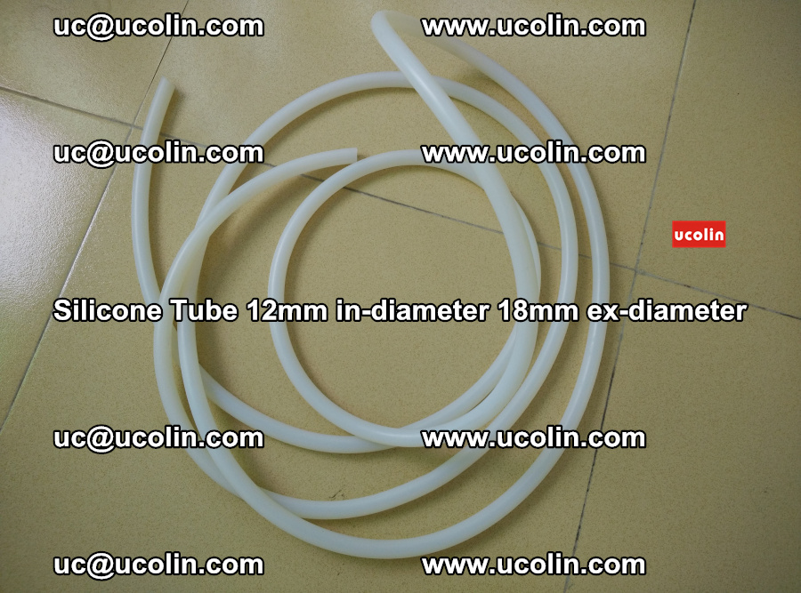 Silicone Tube for vacuuming EVA PVB SGP laminated glass glazing (87)