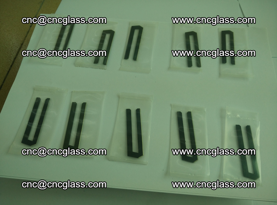 Blades for Thermal cutter trimming laminated glass edges overflowed remains (Ethylene Vinyl Acetate Copolymer) (15)