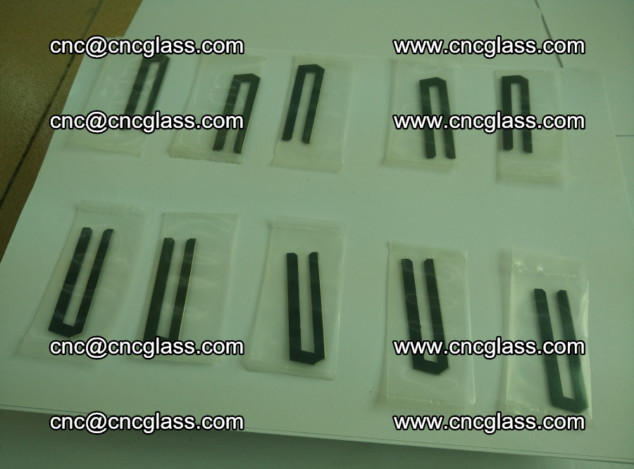 Blades for Thermal cutter trimming laminated glass edges overflowed remains (Ethylene Vinyl Acetate Copolymer) (17)