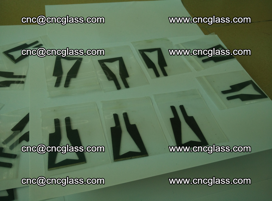 Blades for Thermal cutter trimming laminated glass edges overflowed remains (TPU) (1)