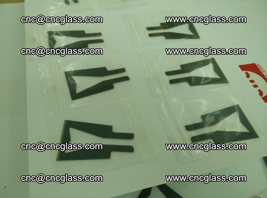 Blades for Thermal cutter trimming laminated glass edges overflowed remains (TPU) (13)