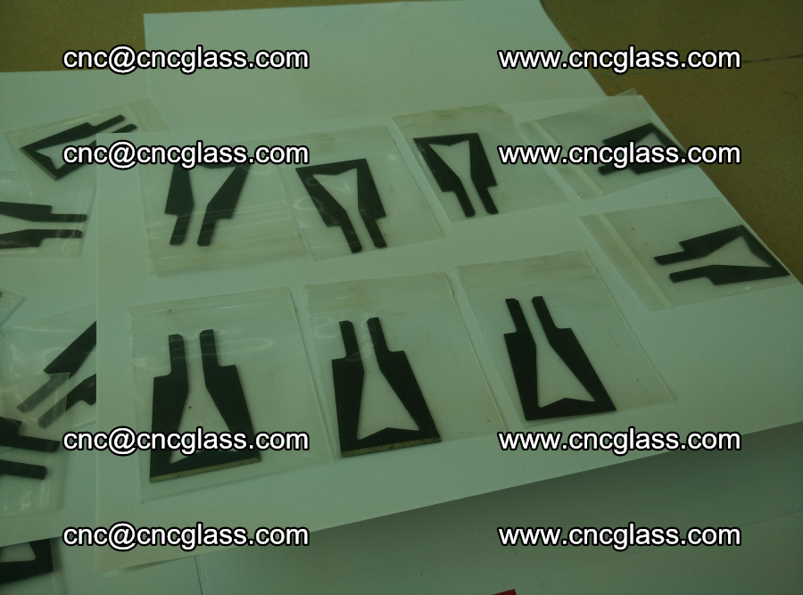 Blades for Thermal cutter trimming laminated glass edges overflowed remains (TPU) (20)